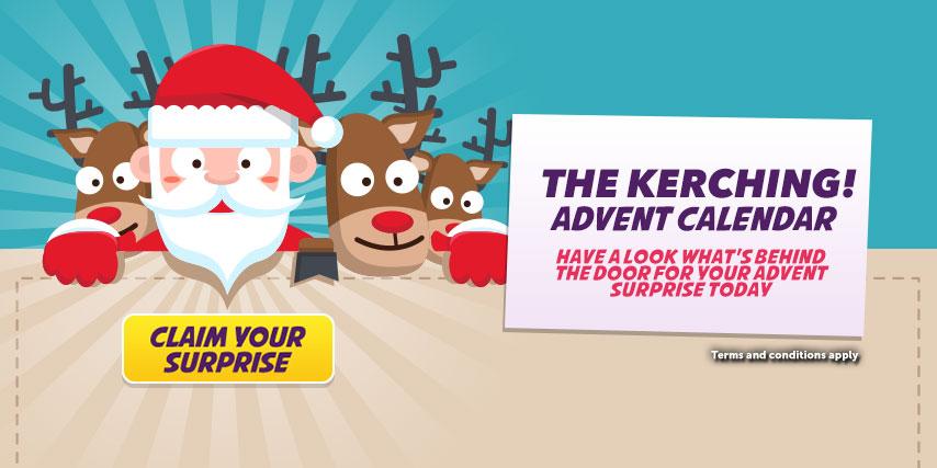 Kerching Casino Advent Calendar