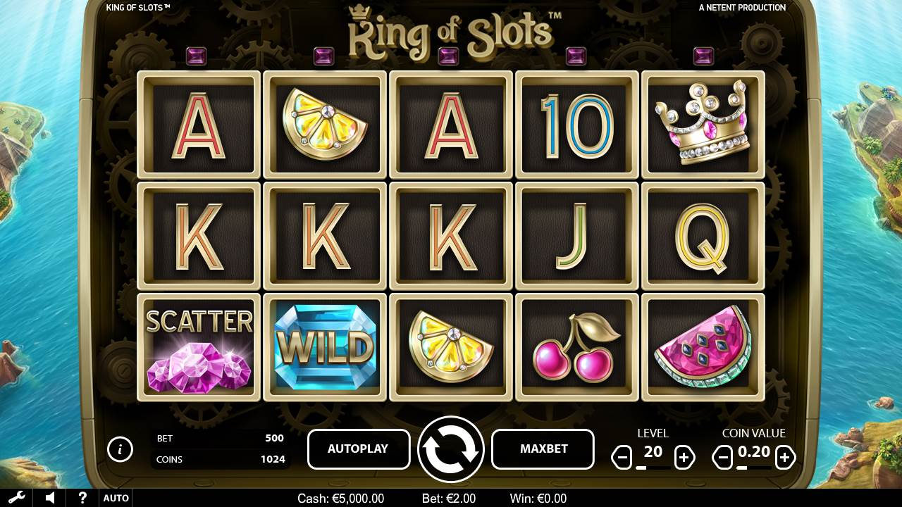 King of Slots by NetEnt - Gameplay