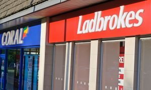 Ladbrokes Coral Betting Shop