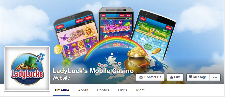 LadyLuck's Facebook Feed