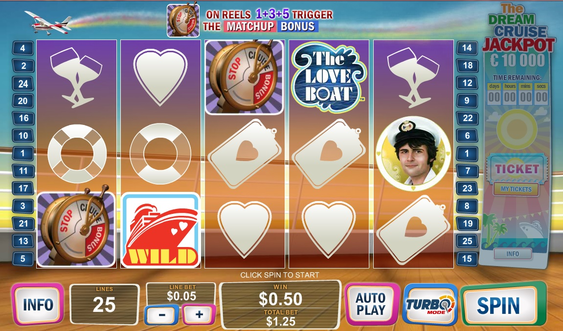 Love Boat Slot Game