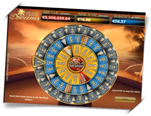 Mega Fortune Dreams Jackpot Wheel