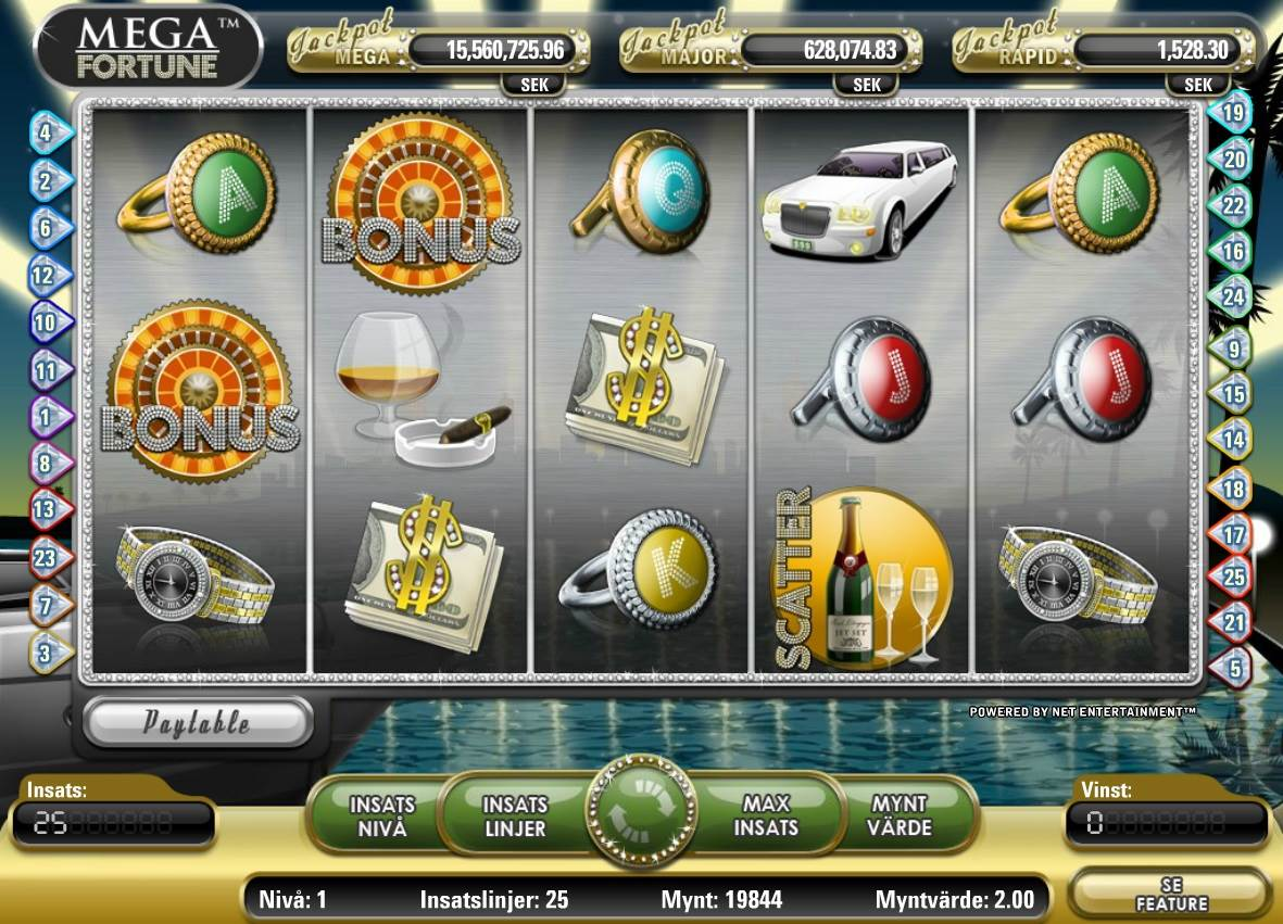 Mega Fortune Slot Gameplay