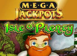 Mega Jackpots Isle O' Plenty IGT Slot Logo