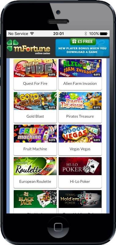 Mfortune casino download