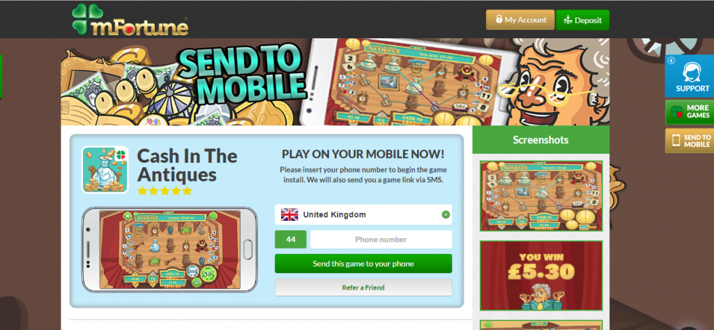 mfortune-casino-send-to-mobile-option