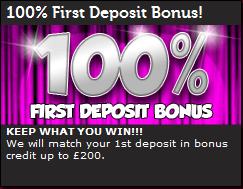 mFortune's Deposit Bonus Details