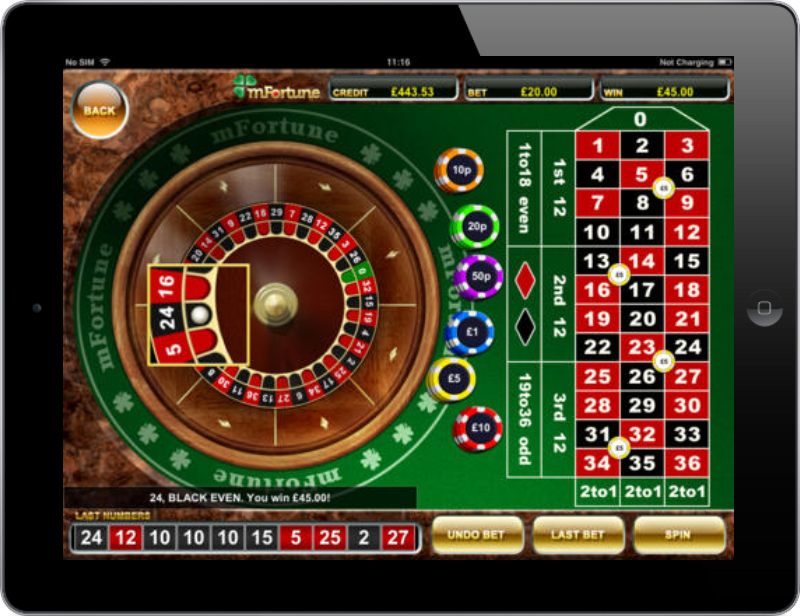Spin the wheel of fortune when you play Mobile Roulette | Casino.com Canada