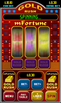 mFortune Gold Rush Slots Screenshot