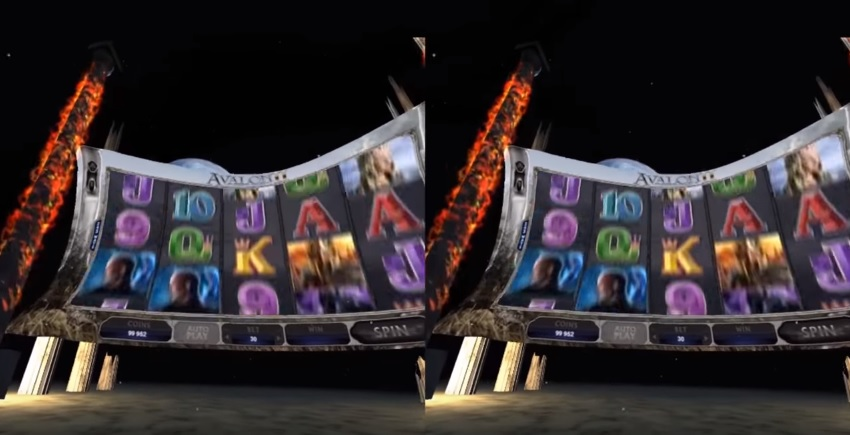 Microgaming Virtual Reality Avalon Slot