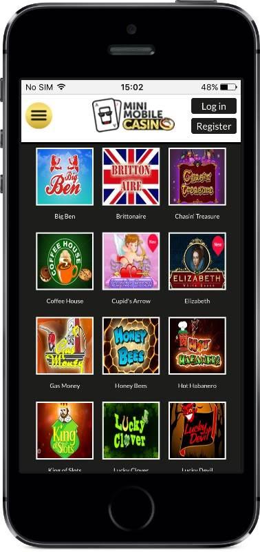 Mini Mobile Casino Games on Mobile