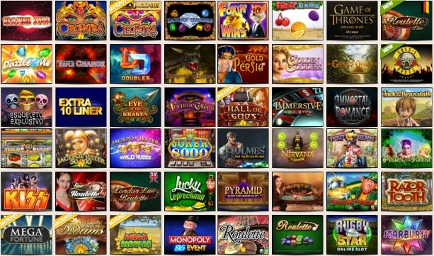 Mobile Slot Game Icons