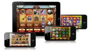 mobile slots feature