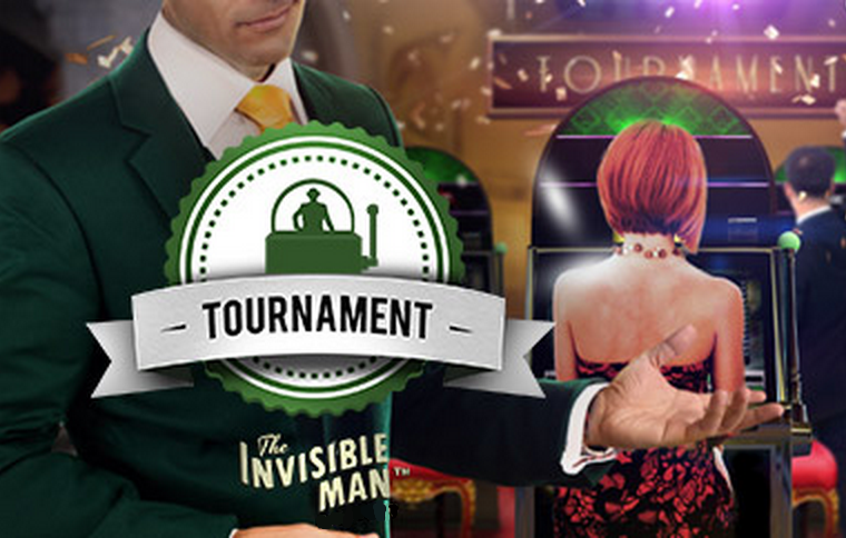 Mr Green Invisible Man Tournament Logo
