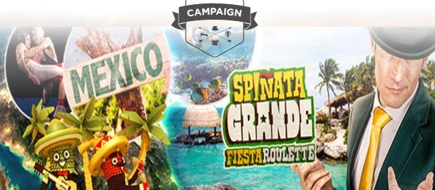 Mr Green Mexico Trip Promotion Banner