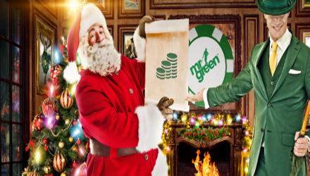 Win Cash For An Entire Year At Mr Green Casino This Christmas