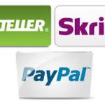 Should You Use Skrill, Neteller Or PayPal For Mobile Depositing