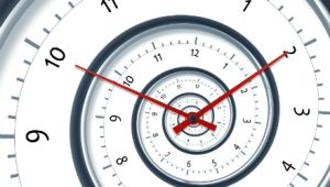 never ending clock