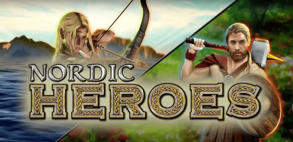 Nordic Heroes IGT Slot Logo
