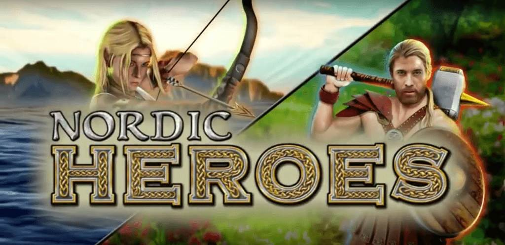 Nordic Heroes Slot Logo