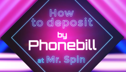 Video Mobile Deposit Guide: How To Pay By Phone At Mr Spin Casino
