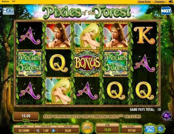 Pixies of the Forest Slot by IGT – Gameplay
