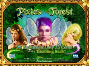 Pixies of the Forest by IGT slot logo