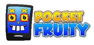 logo for pocketfruity mobile casino