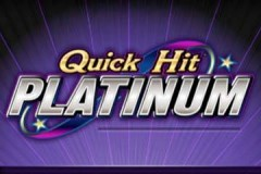 Quick Hit Platinum mobile slot game logo