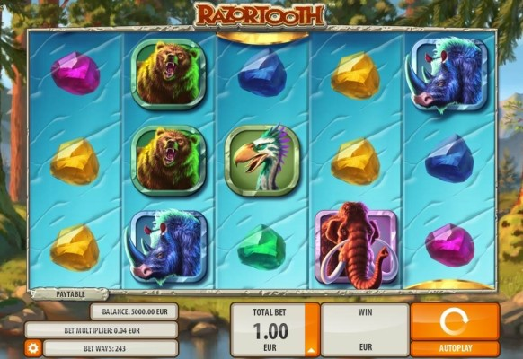 Razortooth Slot by Quickspin – Gameplay