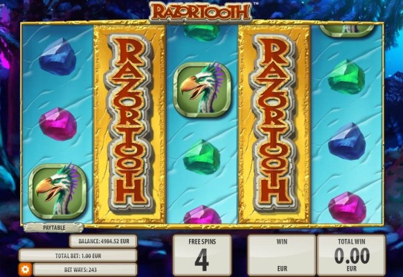Razortooth Slot by Quickspin – Savage Wild Extra Spins