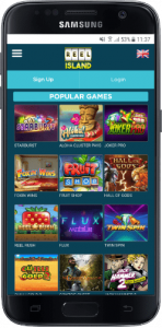 reel island games list on mobile
