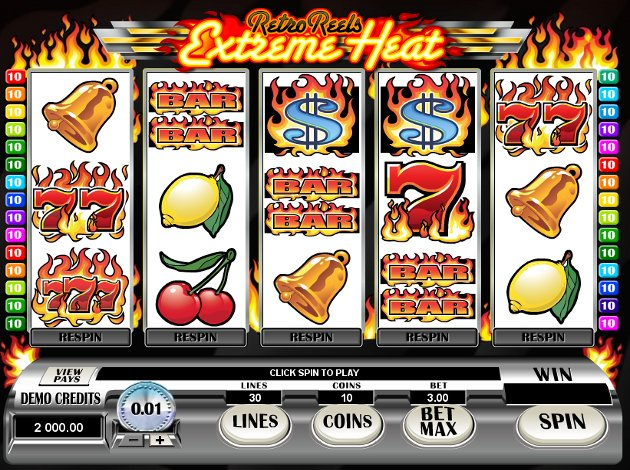 Retro Reels Extreme Heat Mobile Slot by Microgaming
