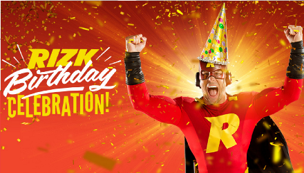 1000 Prizes Every Day To Celebrate Rizk Casino's 1st Birthday