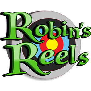 Robin's Reels Slot Logo by mFortune