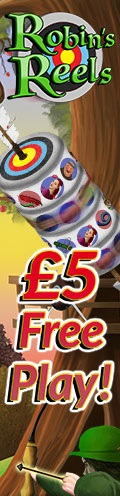 Robin's Reels Slot by mFortune - Promotion Banner