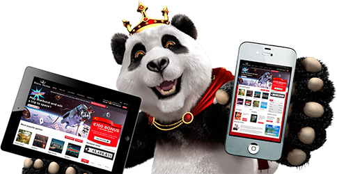 Royal Panda Device Graphic