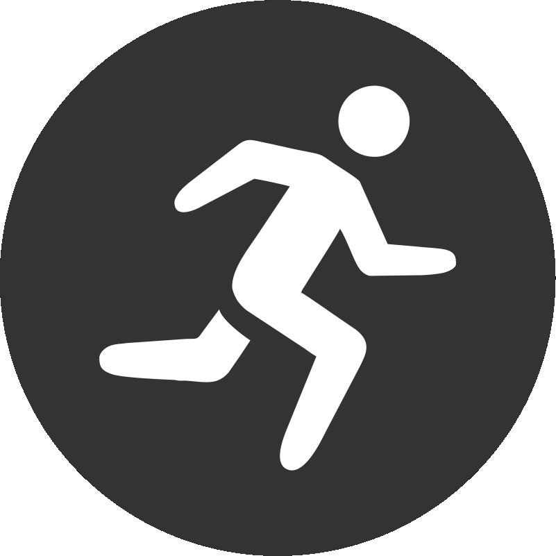 Running Figure Icon