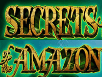 Secrets of the Amazon slot logo