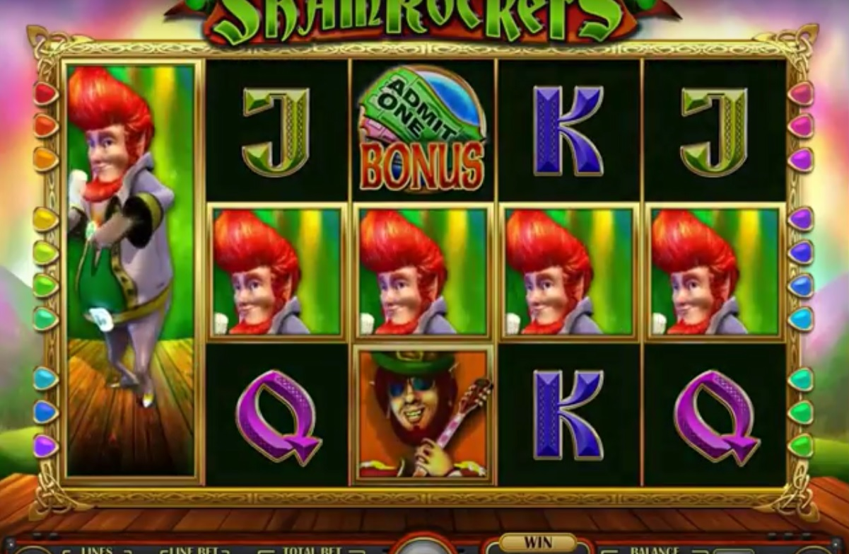 Shamrockers IGT Mobile Slot Stacked Wilds