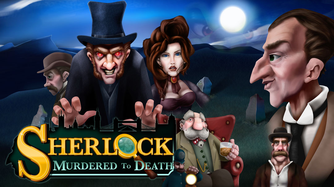 Sherlock Murdered to Death Slot by mFortune Logo