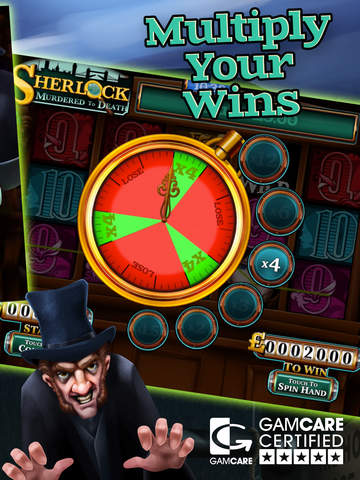 Sherlock Murdered to Death Slot by mFortune