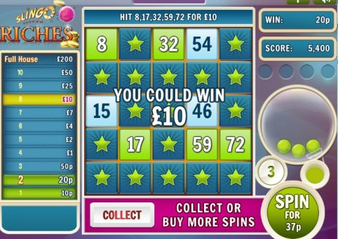Slingo Riches Slot & Bingo – Buy More Spins