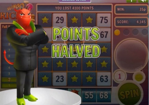 Slingo Riches Slot & Bingo – Devil Points Halved
