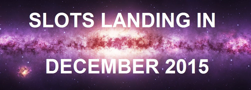 Slots Landing in December 2015 Banner