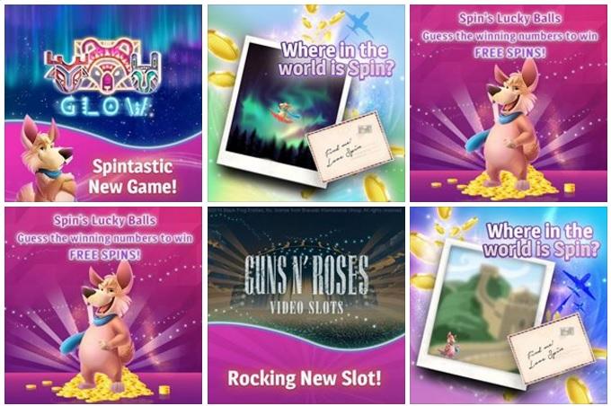 Spin Genie Casino Facebook Photos