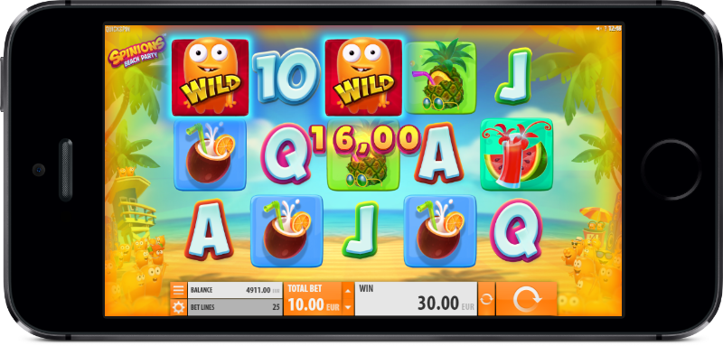 Spinions Beach Party Slot Machine Online ᐈ Quickspin™ Casino Slots