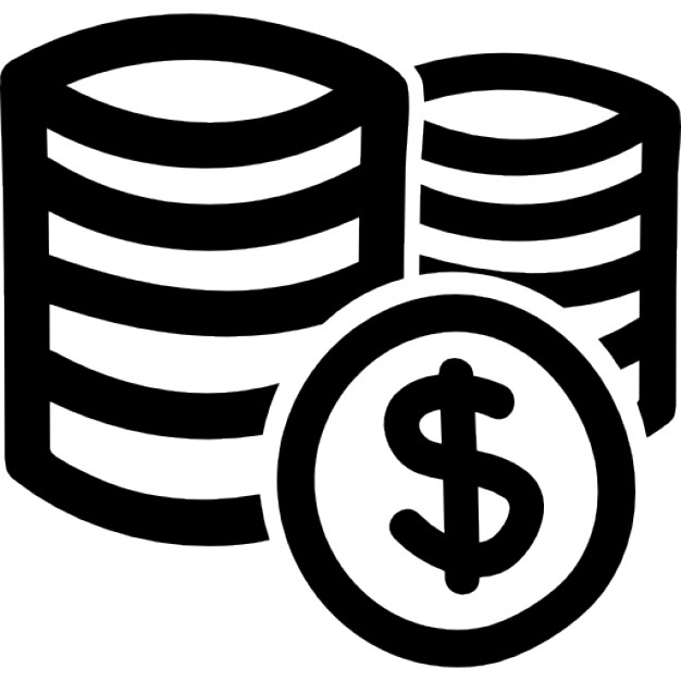 Stack Coins Icon
