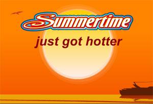 Summertime Mobile Slot Game Logo