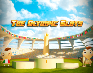 The Olympic Slots Logo